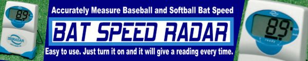 Bat Speed Monitor : Accurately measure baseball and softball bat speed
