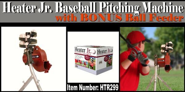 heater jr pitching machine